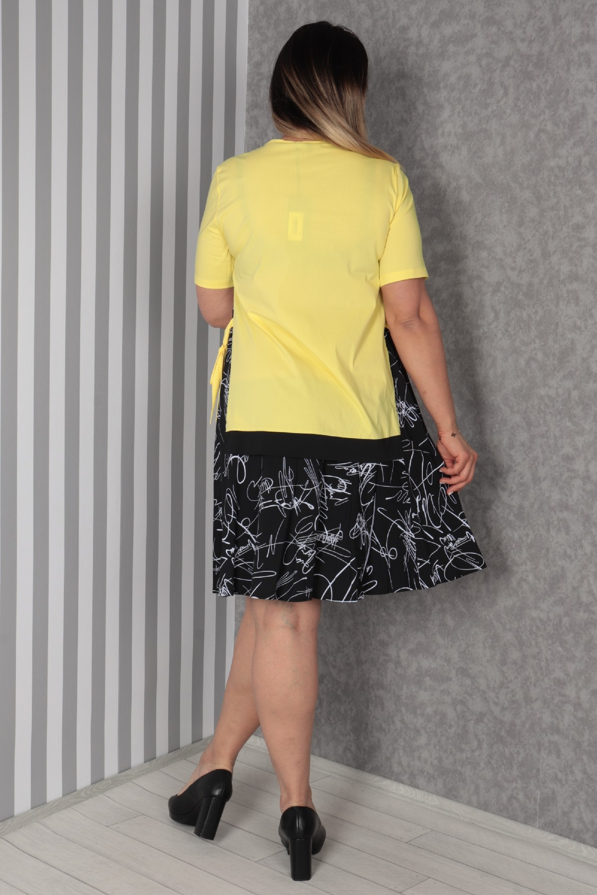 Casual Dresses-Yellow