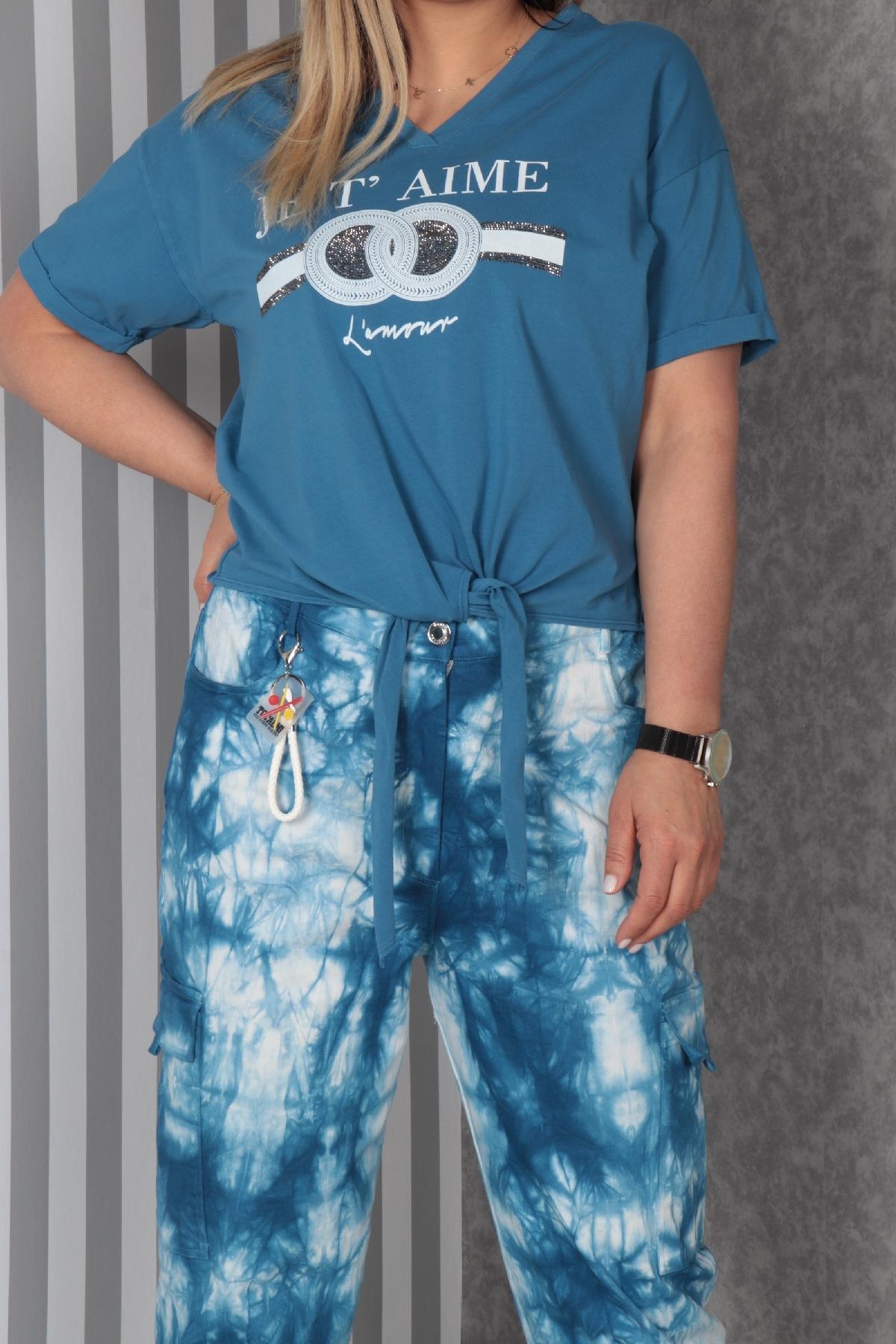 Two-Piece Suit-Blue
