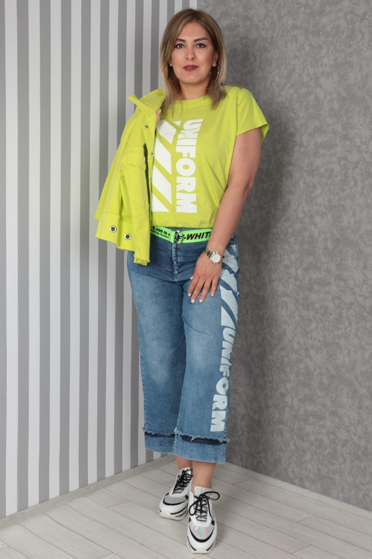 Women's 3 Piece Suits-Neon Green