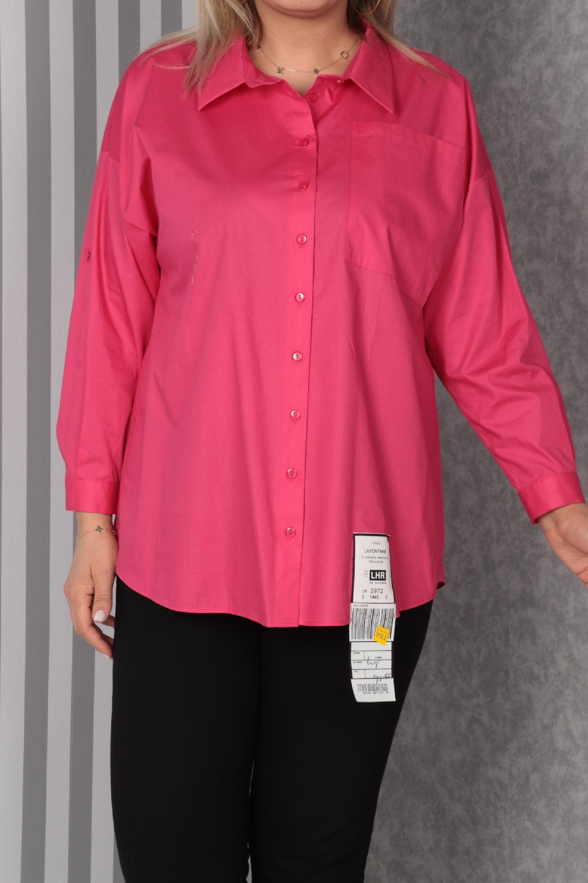Shirt-Fuchsia