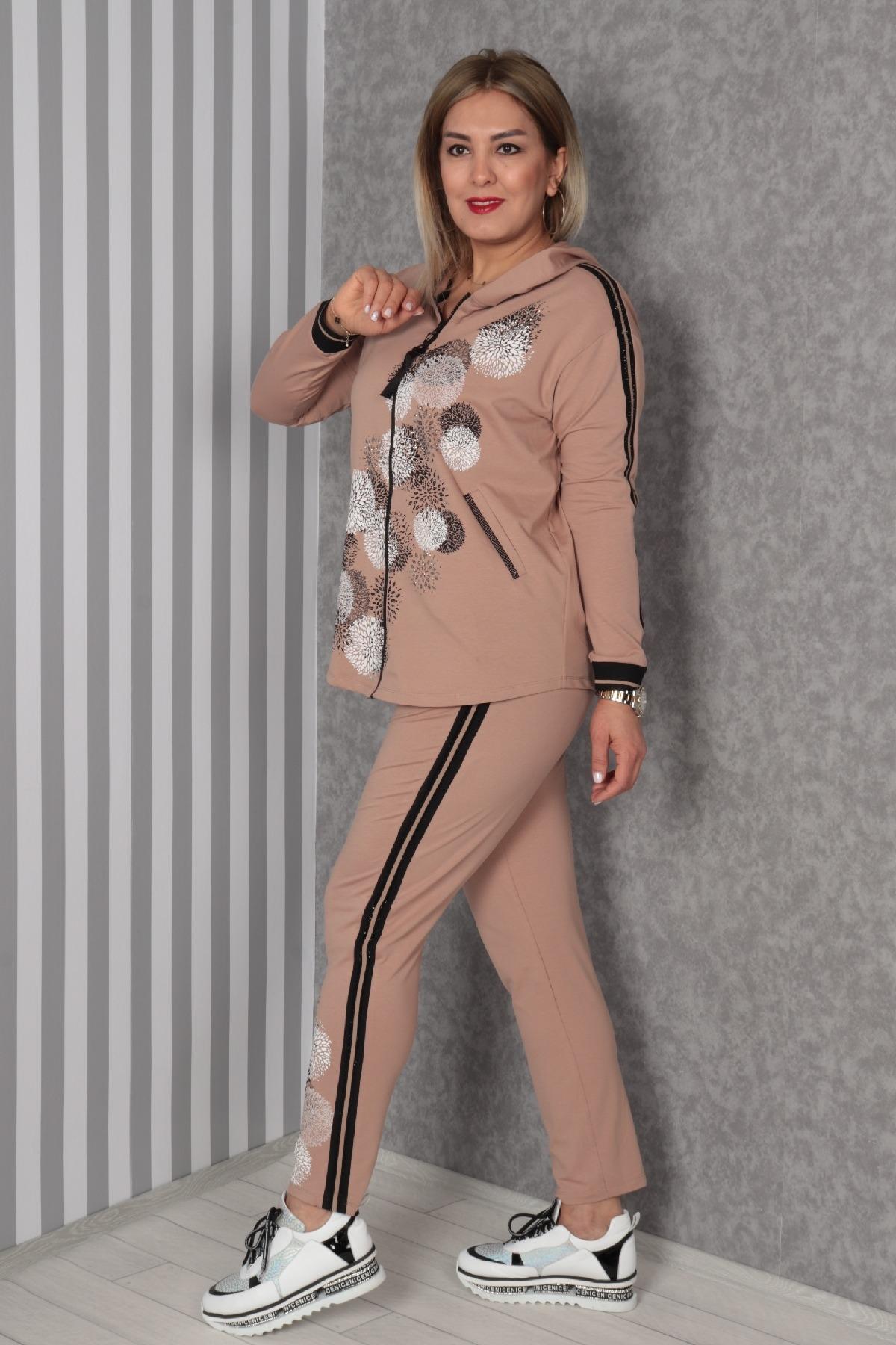Two-Piece Suit-Mink