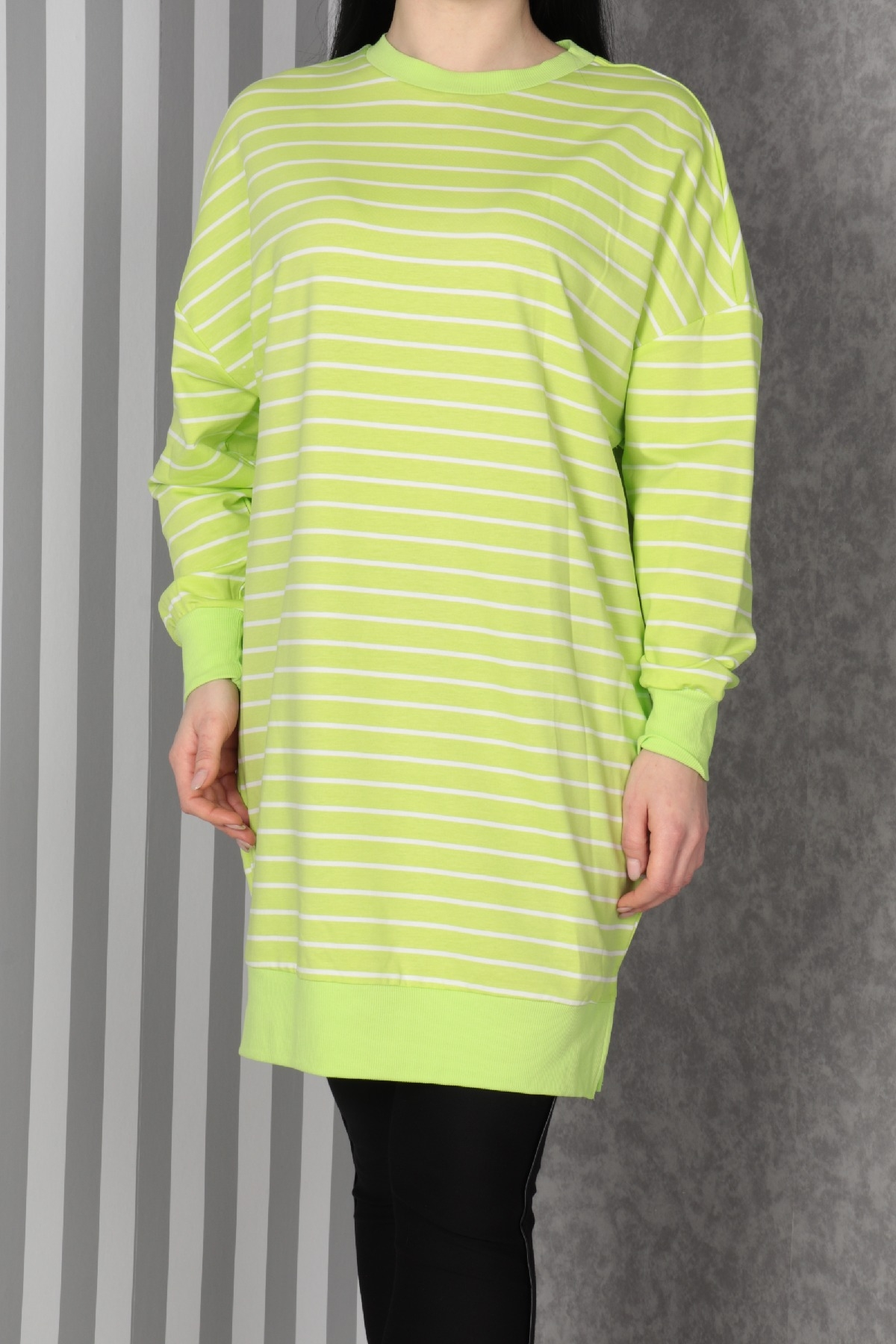 Tunics-Neon Green