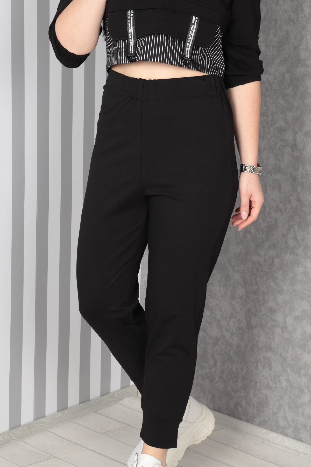 women pants-Black
