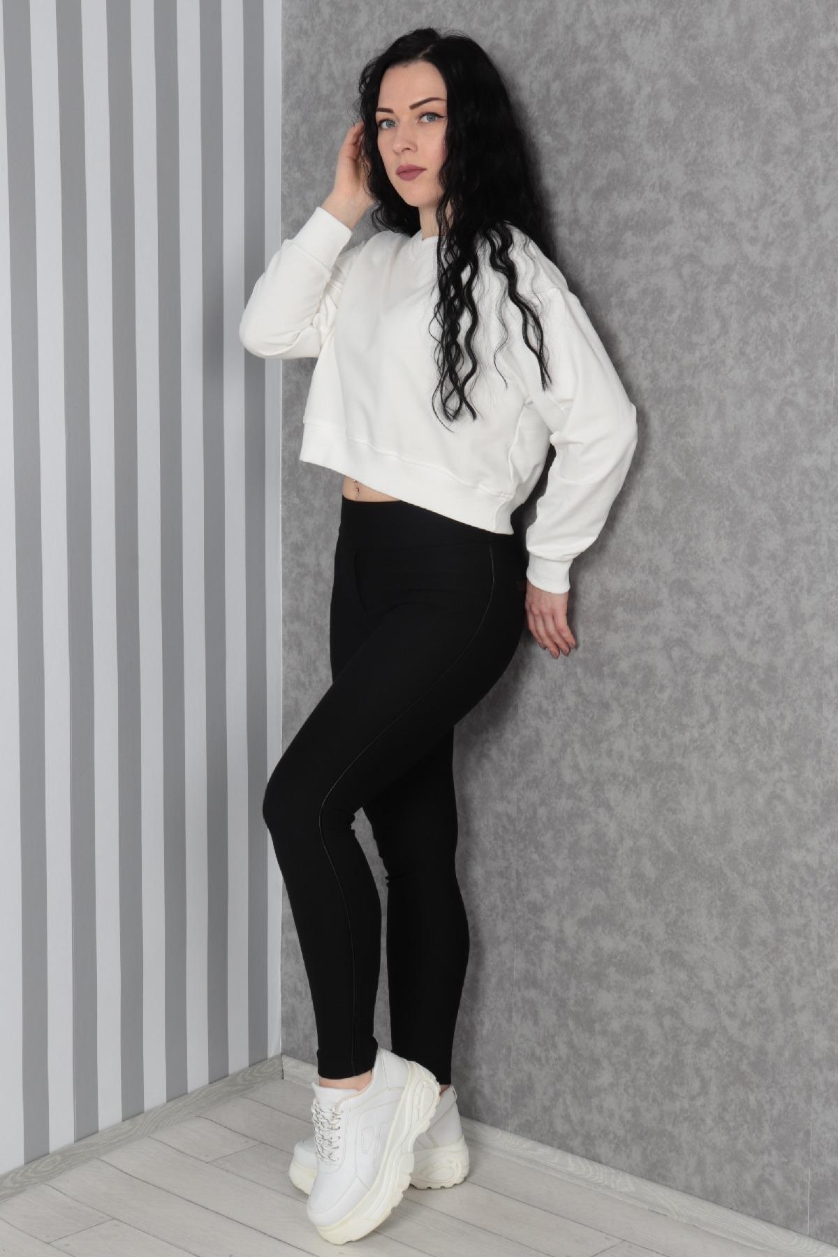 Sweatshirt-Ecru