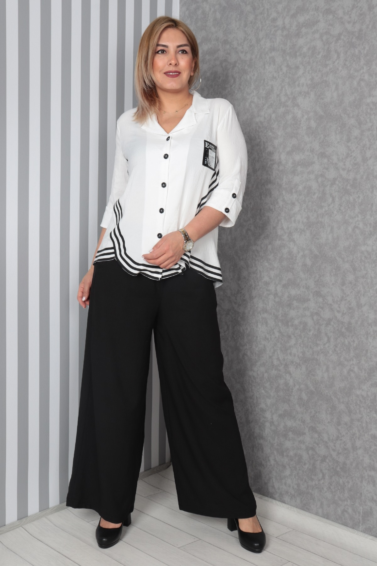 Two-Piece Suit-White