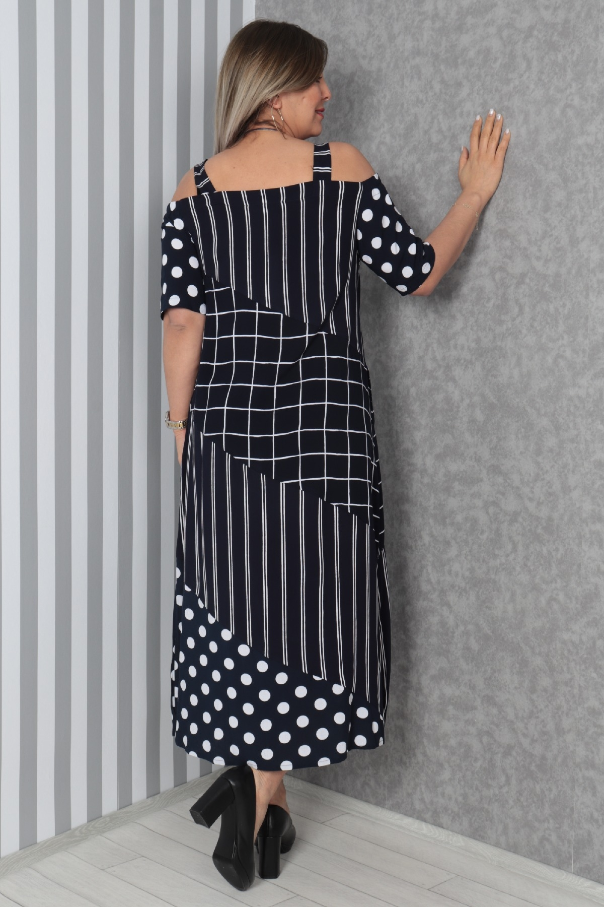 Dresses-Dark Blue
