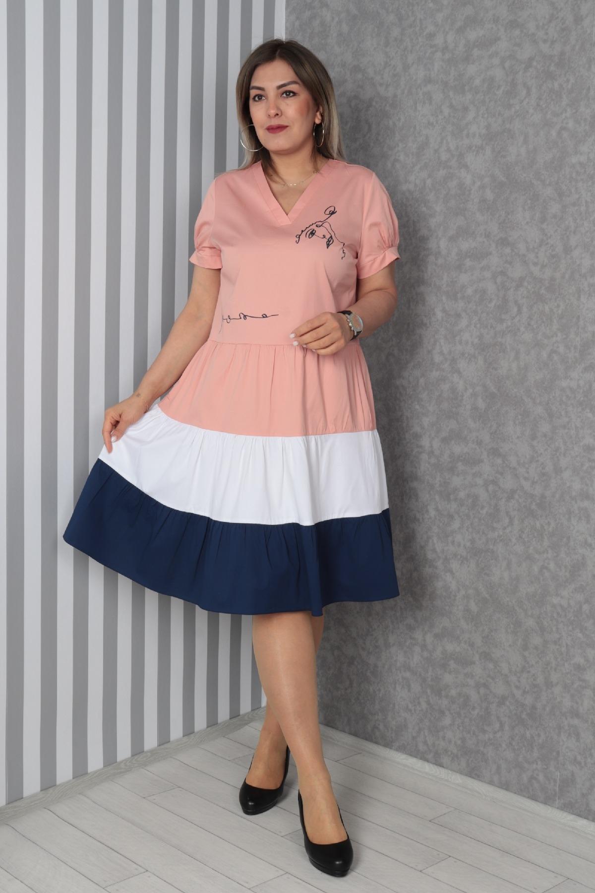 Dresses-powder pink