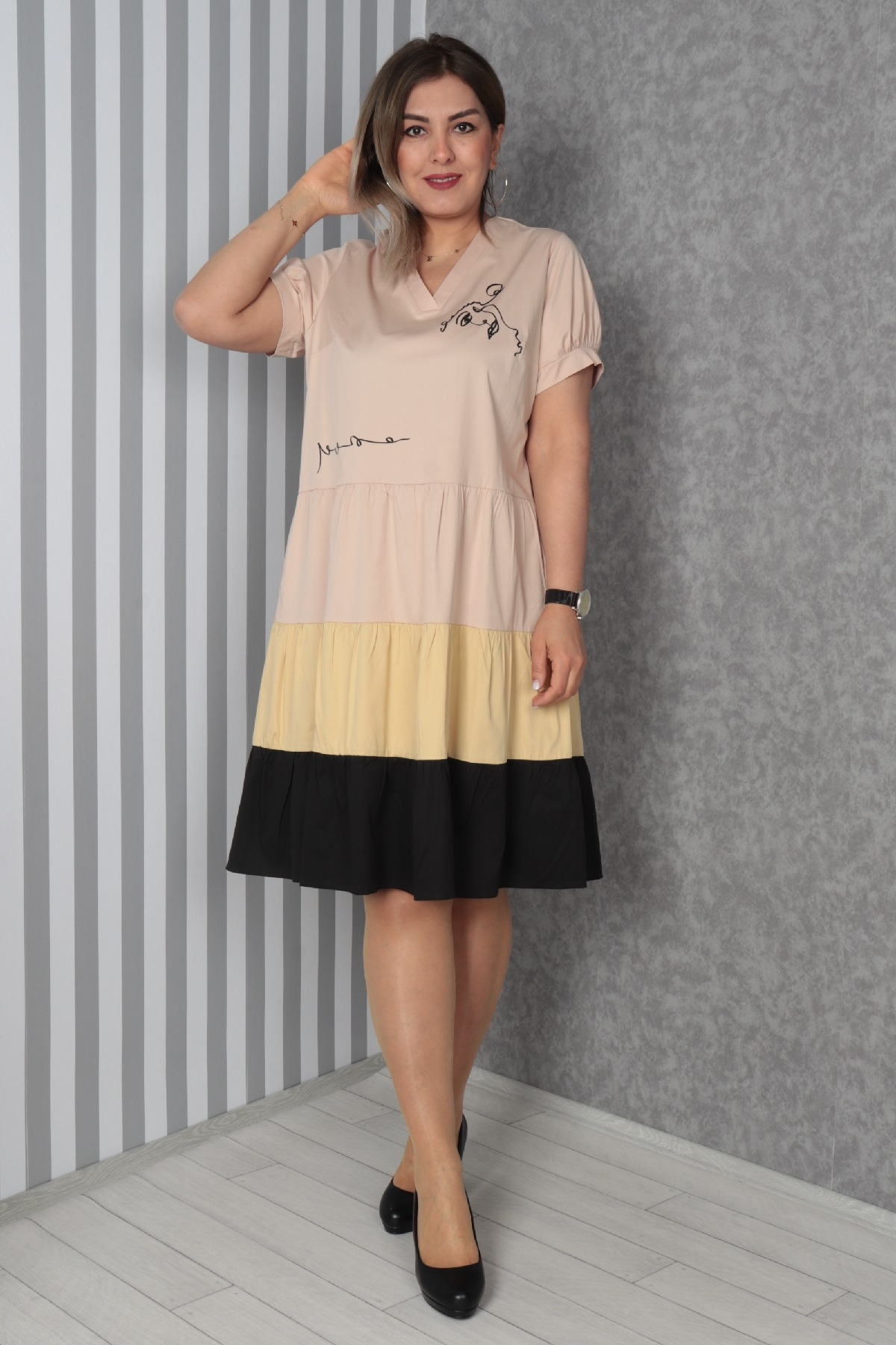 Dresses-Mink