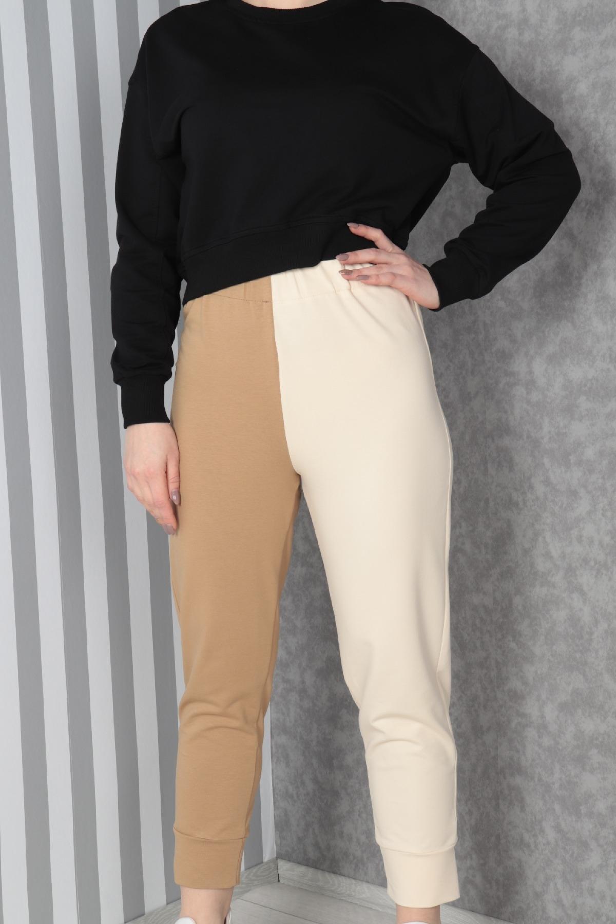 women pants-Beige
