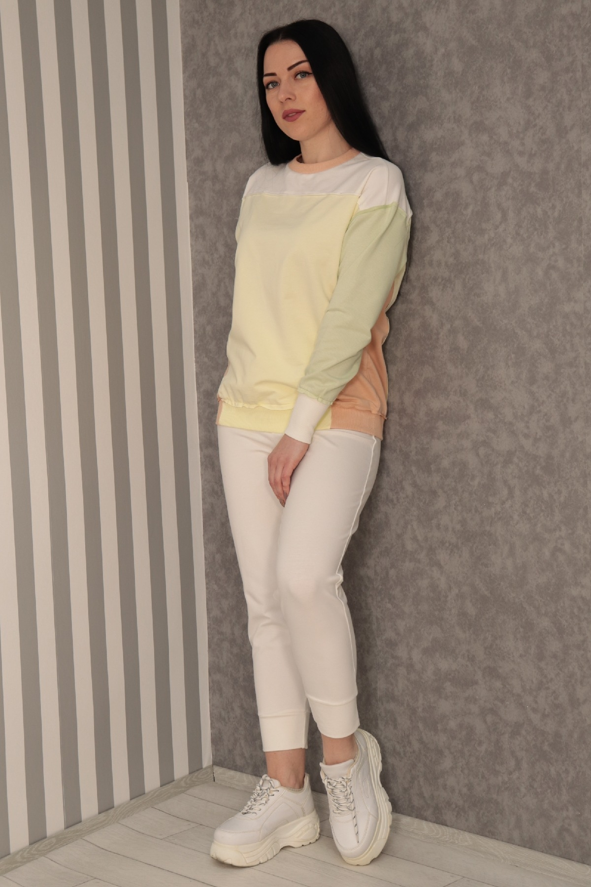 Sweatshirt-Yellow