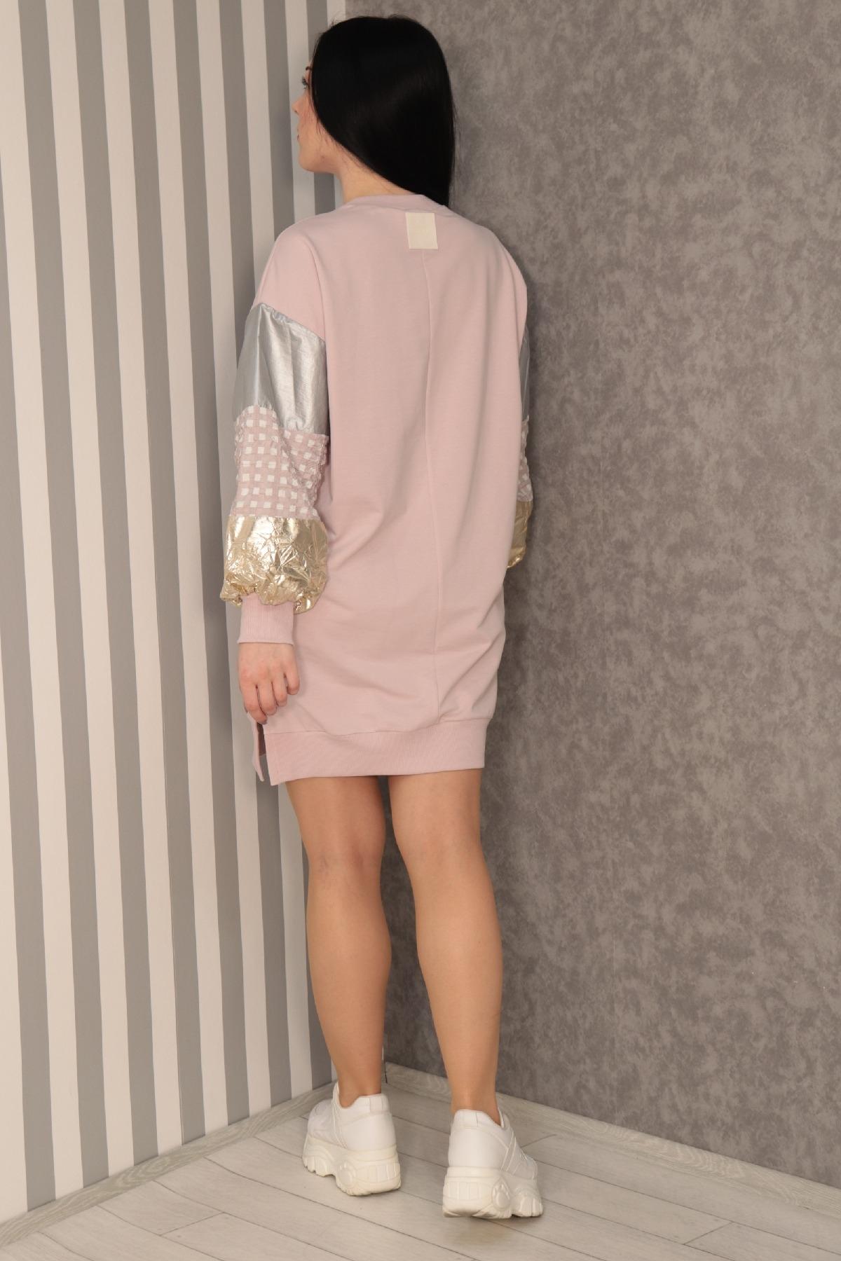 Casual Short Dresses-Lilac
