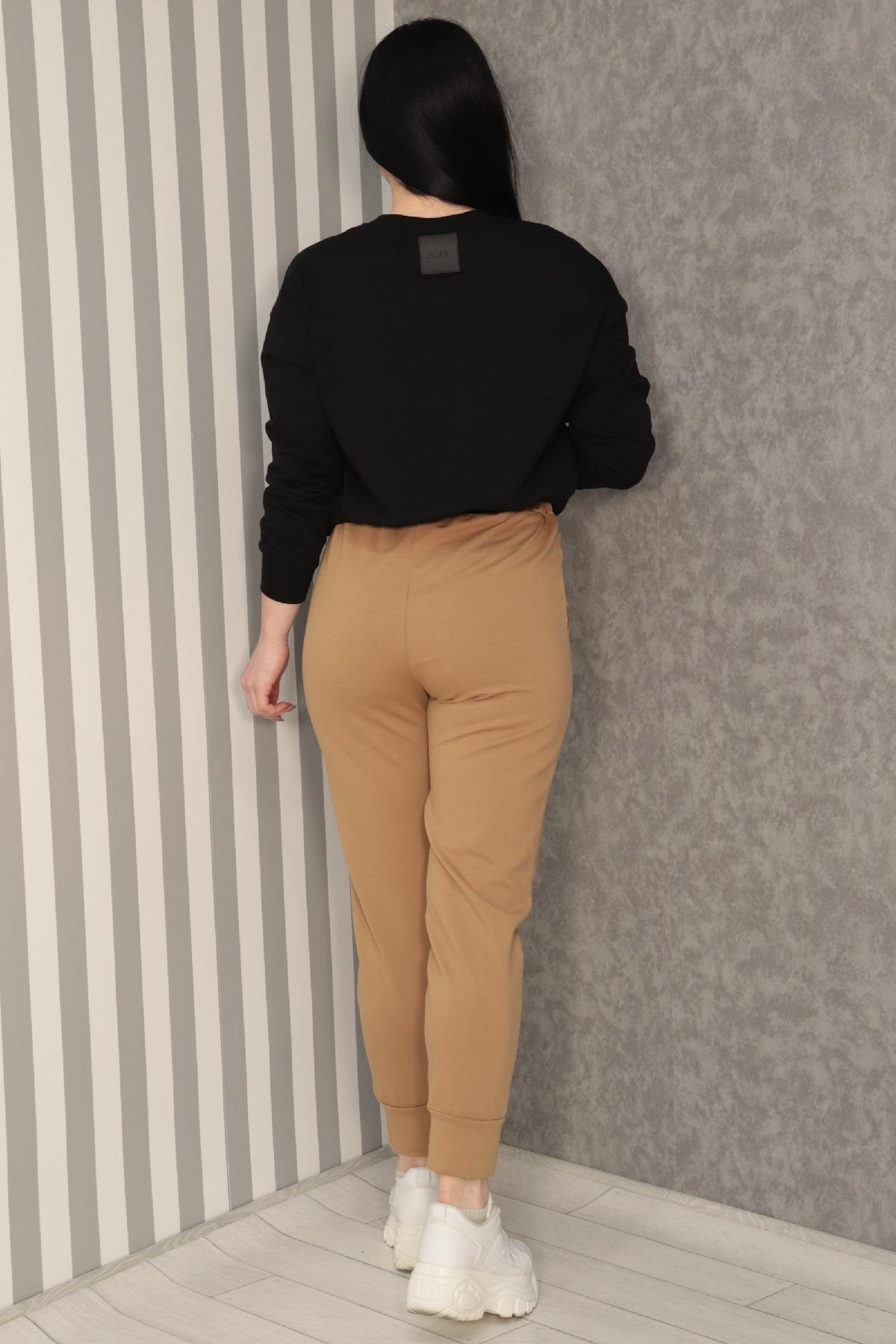women pants-Coral