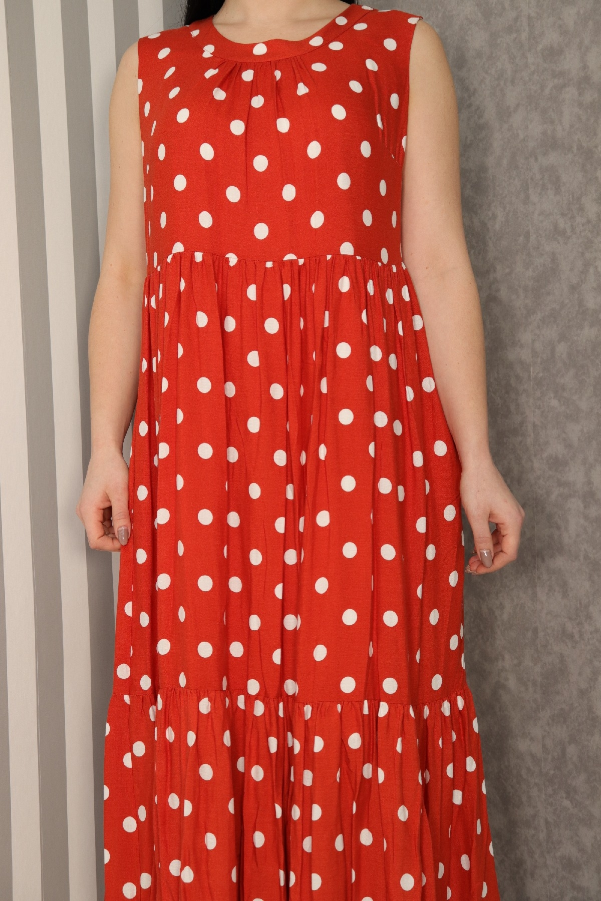 Casual Dresses-Terracotta