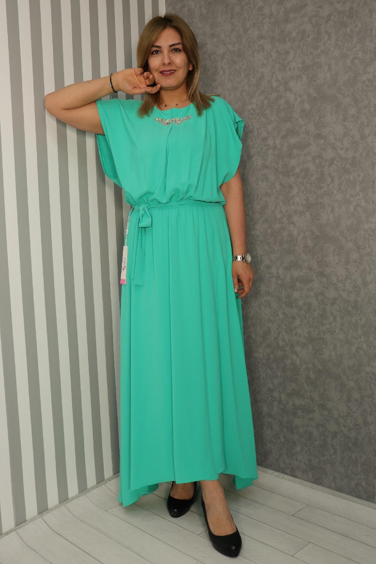 Casual Long Dresses-Light green