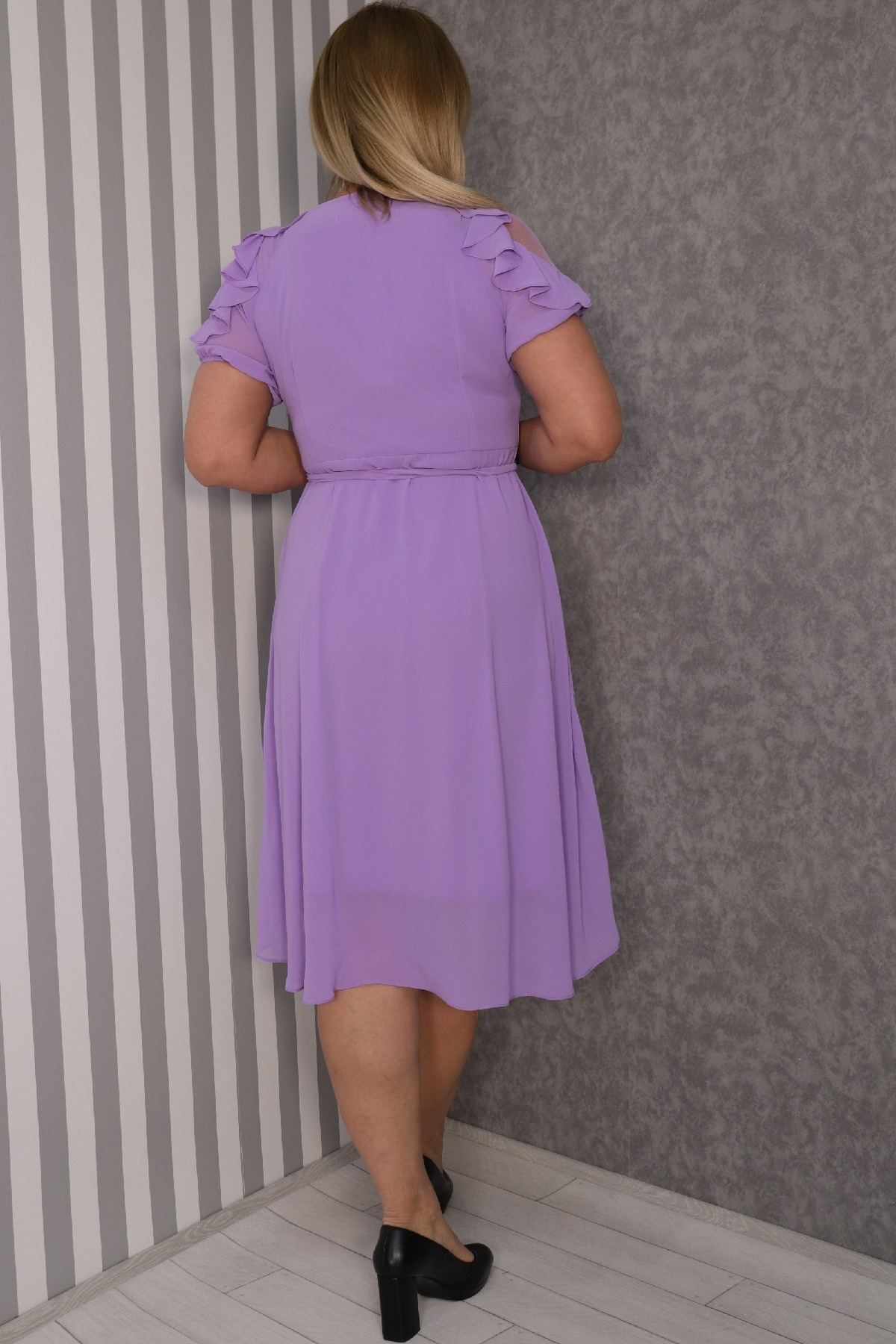 Casual Dresses-Lilac