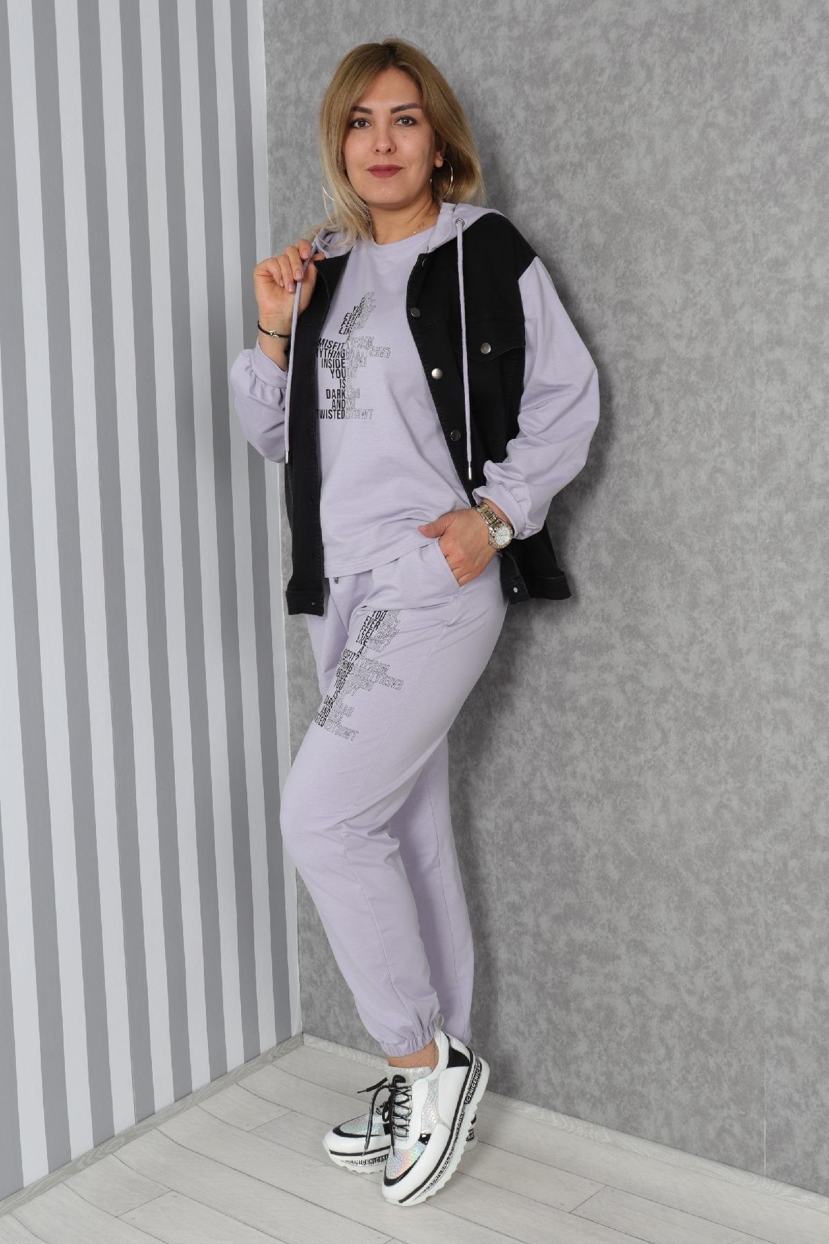 Women's 3 Piece Suits-Lilac
