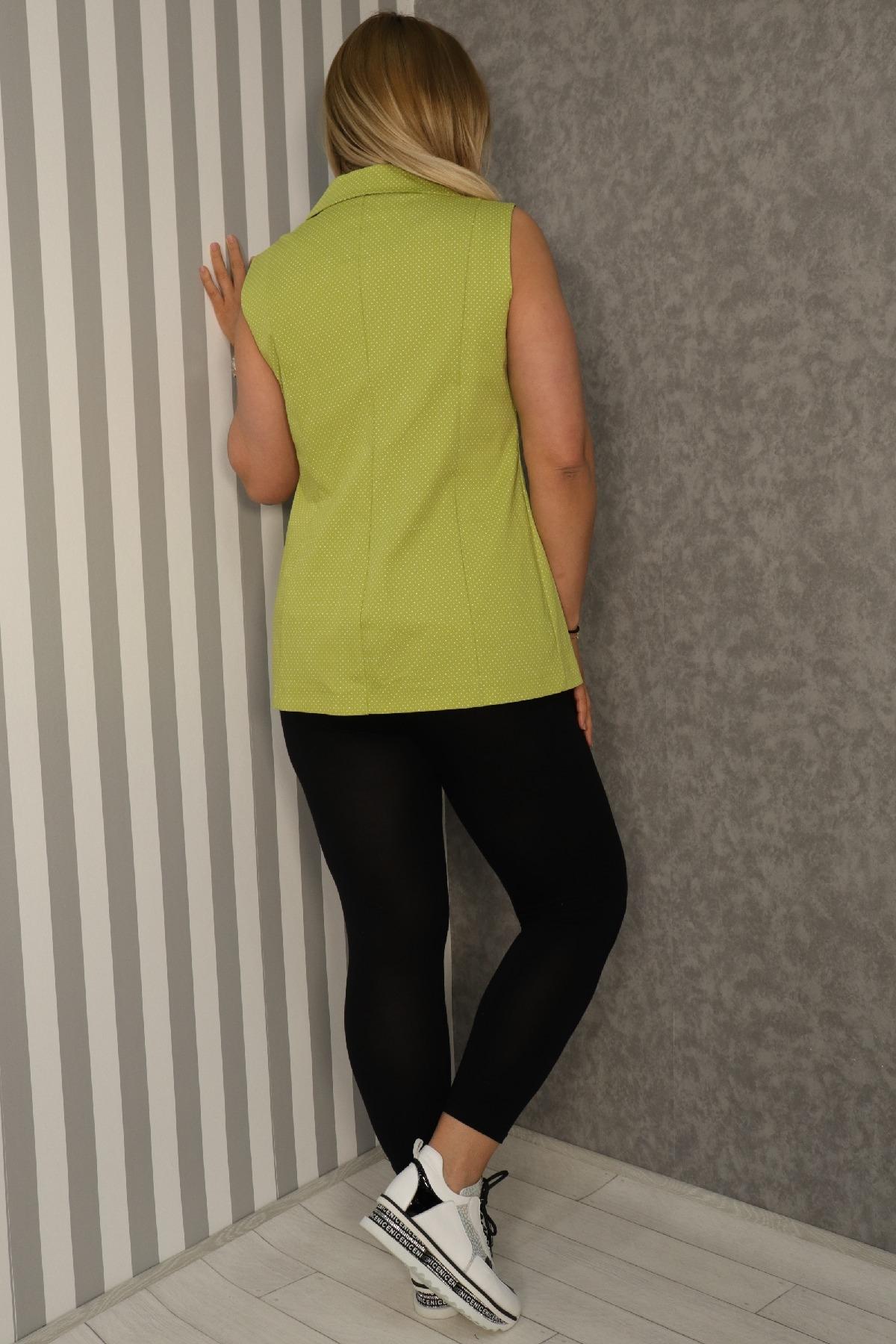 Vests-Neon Green