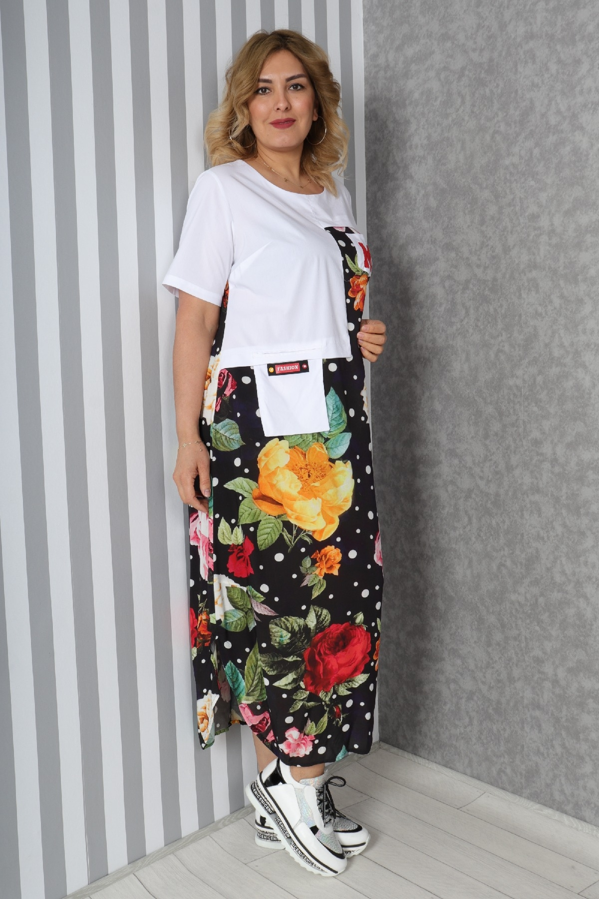 Casual Long Dresses-White