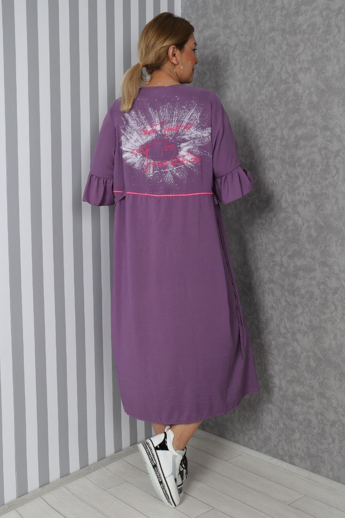 Casual Long Dresses-Purple