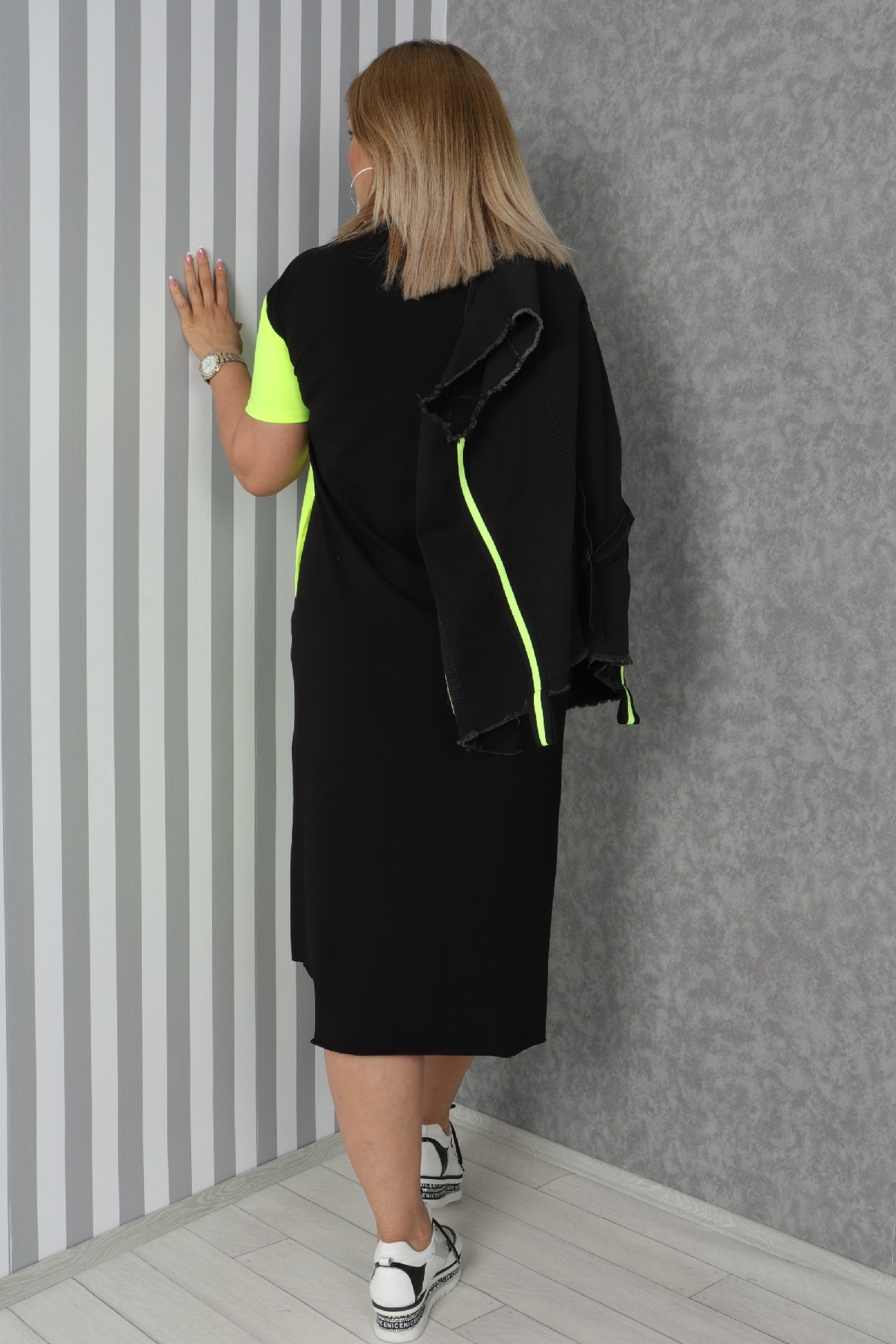 Two-Piece Suit-Neon Green