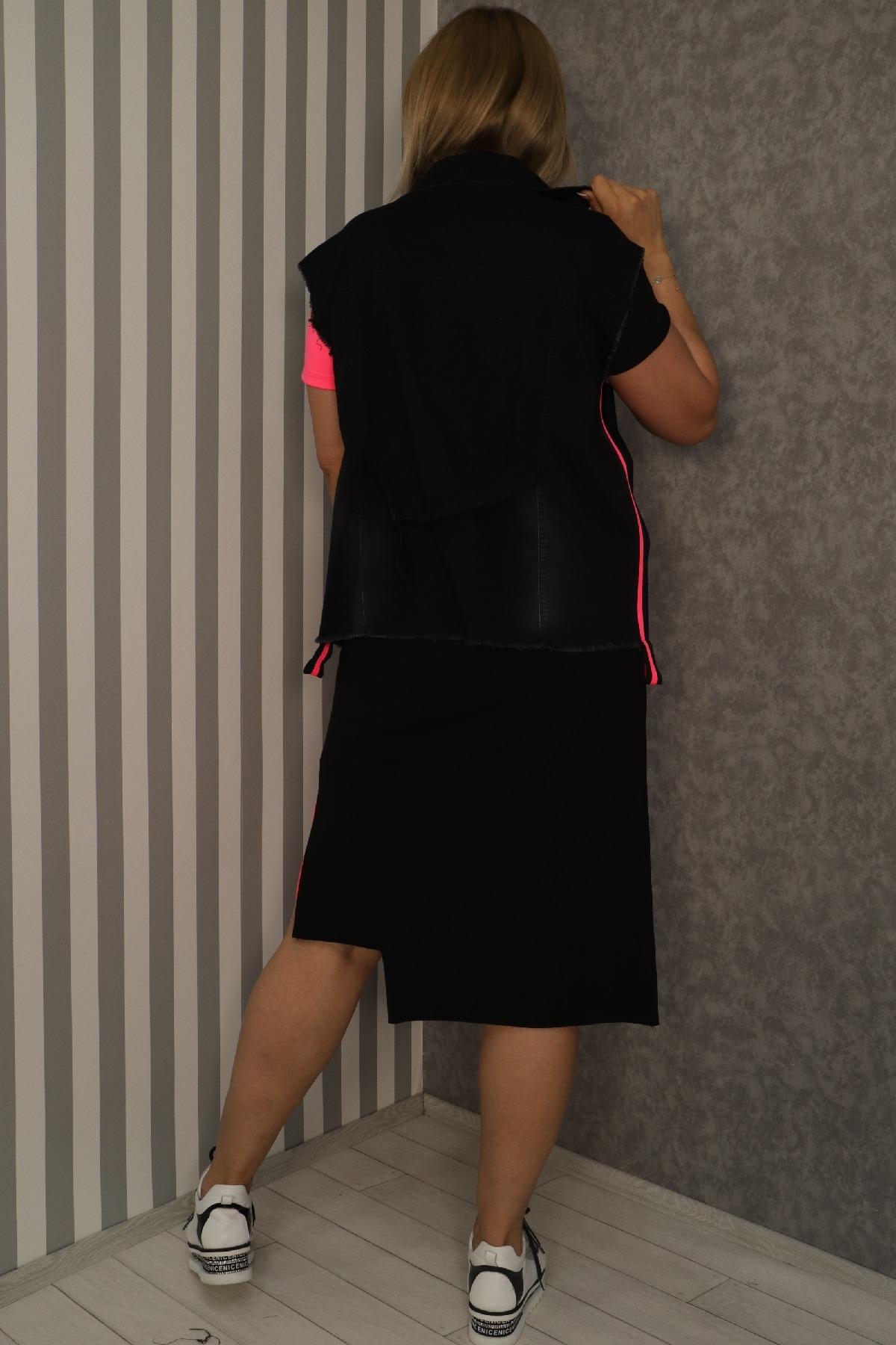 Two-Piece Suit-Fuchsia