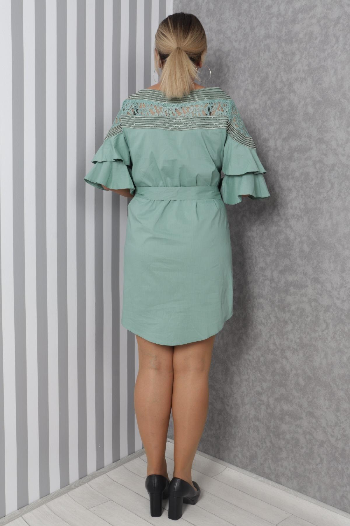 Casual Dresses-Light green